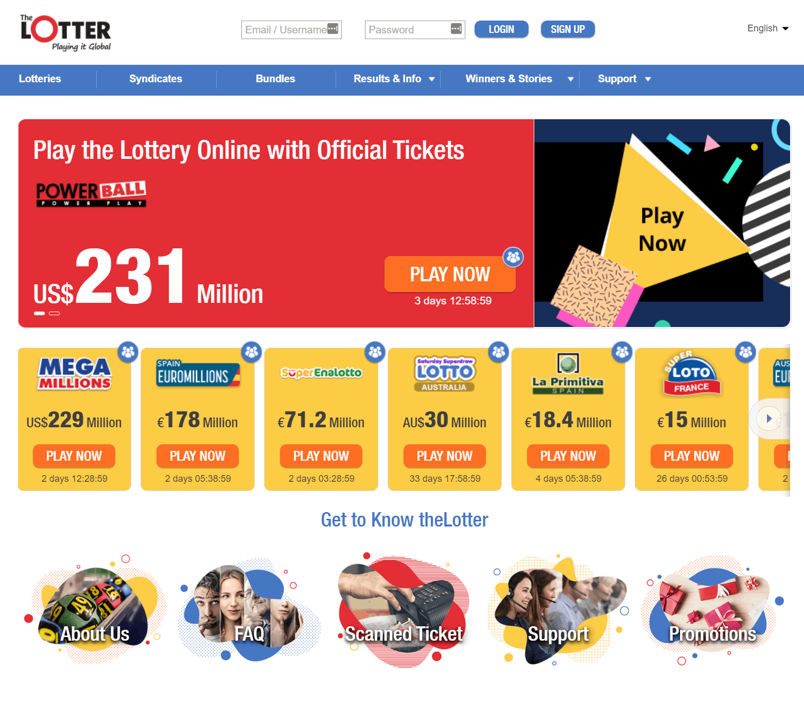 thelotter screenshot 2020